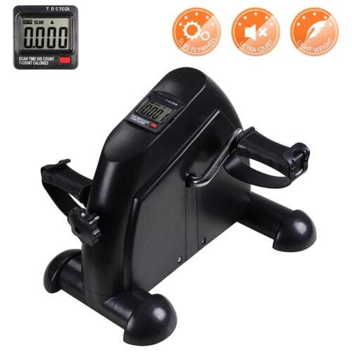 Portable Mini Pedal Exerciser Arm//Leg Exercise Bike Resistance Cycle LCD Display