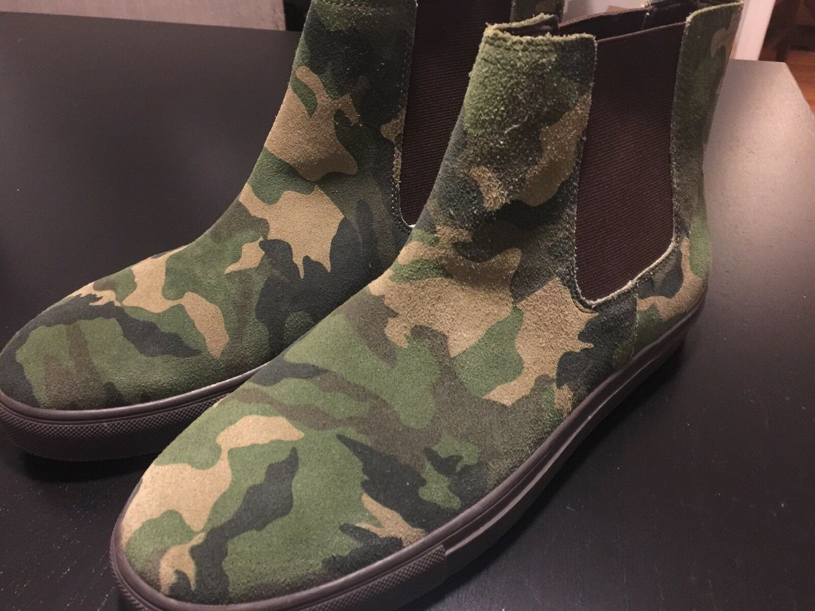 migliore vendita Steve Madden Uomo CAMO avvio scarpe scarpe scarpe Dalston stivali Dimensione 11 Memory Foam scarpe da ginnastica  forniamo il meglio