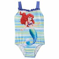 Disney Princess Ariel The Little Mermaid Toddler Girls One Piece Swimsuit 2t