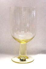NORITAKE crystal NOVUS - CITRON pattern ICED TEA Glass