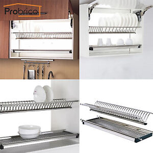 Ordinaire Image Is Loading Probrico Stainless Steel 2 Tier Dish Drying Racks