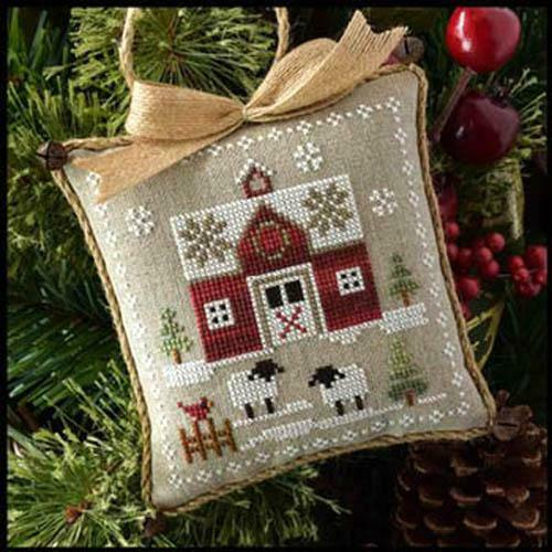 Farmhouse Christmas Part 1 Little Red Barn Pattern