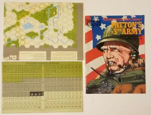 Strategy & Tactic SPI #78 Magazine Victory in West PATTON's 3rd ARMY UNPUNCHED