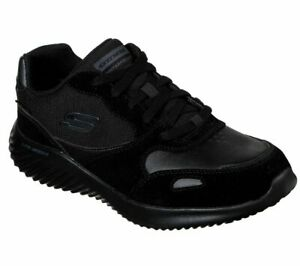 Waterproof-Black-Memory-Foam-Skechers-Shoes-Mens-Sport-Comfort-Casual-Lace-52590