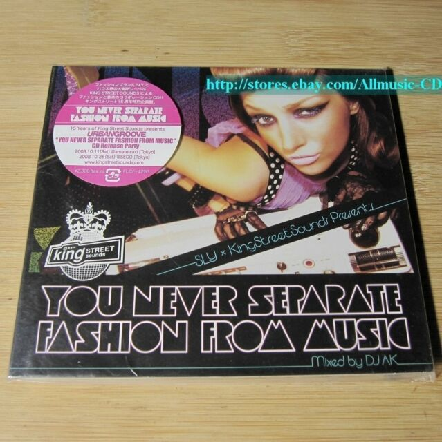 DJ AK - You Never Separate Fashion From Music JAPAN CD NEW #06-3
