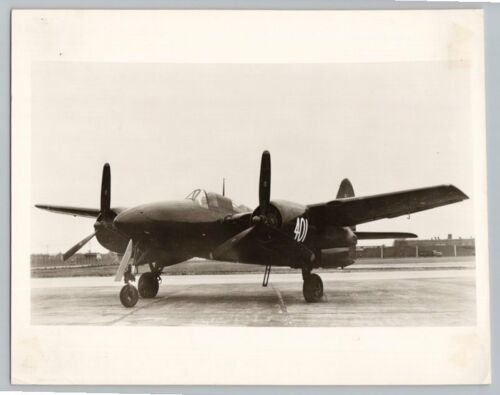 1950's GRUMMAN F7F3N TIGERCAT NIGHT FIGHTER Vintage OFFICIAL US NAVY Photo