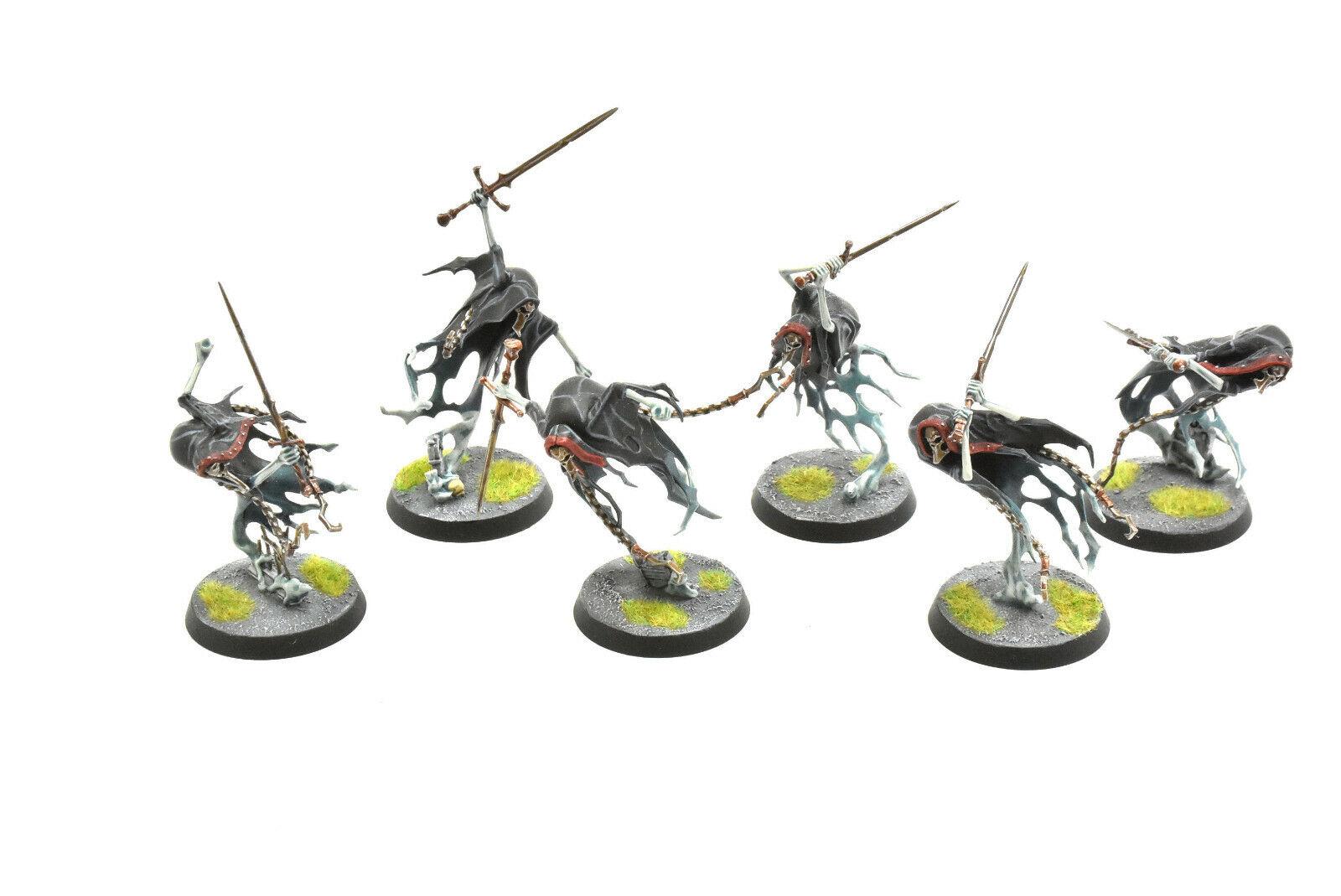 NIGHTHAUNT  6 bladegheist revenants  2 PRO PAINTED Warhammer Sigmar Undead  à vendre en ligne