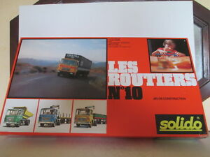 Solido Demontable # 430 Coffret Les Routiers 10 Mib Never Openned Jamais Ouvert