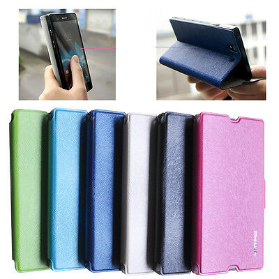 Leather For Sony Xperia Z C6603 L36H L36i Luxury Flip Book Case High Quality