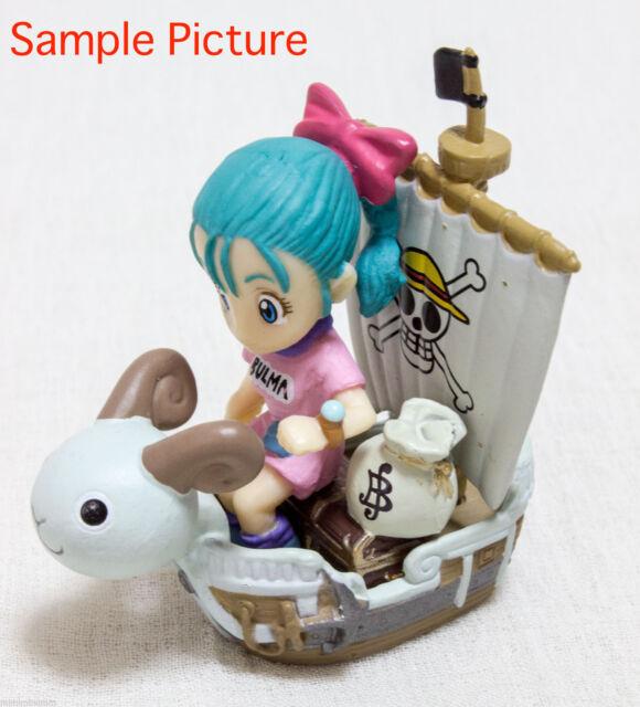 Dragon Ball Z x One Piece 40th Dream Fusion Mini Figure Bulma JAPAN ANIME