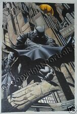 Batman DC Comics Art Oil Painting Hand-Painted Signed on Canvas NOT a Print 21