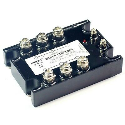 Solid State Relay SSR-1 DD60D200 200A/5-60VDC 3-32VDC