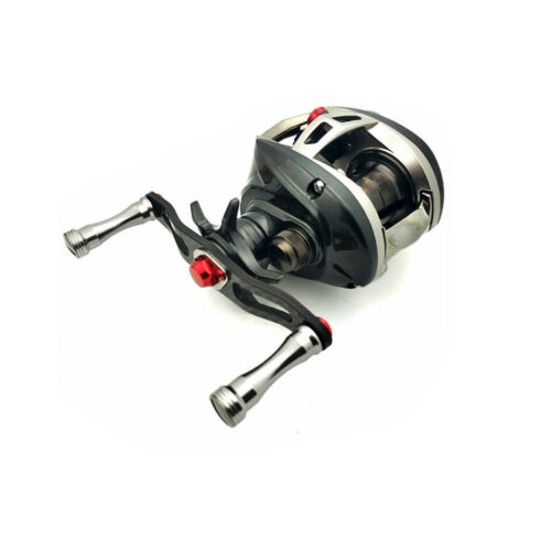Fishing Reel Handle Knob for Low Profile//Baitcasting//Spinning Reel Silver