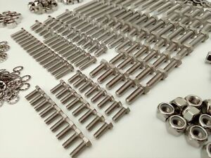 1000pc Stainless UNF Hex Bolts 100-6 3000 Pack Nuts /& Washer AUSTIN HEALEY 100