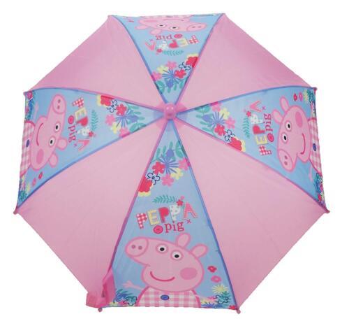 56cm Peppa Pig Ombrello Rosa e Blu 55.9cm