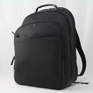 MONTBLANC EXTREME 2.0 LARGE CALF LEATHER CARBON FIBER PRINT MENS BACKPACK