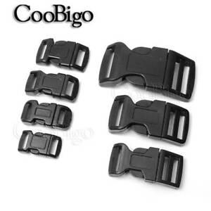 Backpack Belt Parts Curved Buckle Paracord Bracelet Lock Side Release Buckles