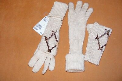 """Ehrgeizig Neu Handschuhe Für Mädchen """"h&m"""" Gr. 134-146 Hohe Belastbarkeit"""
