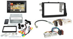 KIA-SORENTO-2-AB-09-2-din-autoradio-Navi-Set-Montaje-Adaptador-cable