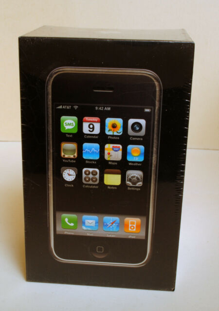 BRAND NEW SEALED !! FIRST GENERATION !!! APPLE IPHONE 1 2G 8GB FACTORY UNLOCKED