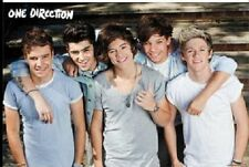 1D ONE DIRECTION DREAM TEAM POSTER BOY BAND GROUP NEW 34X22 FAST FREE SHIPPING