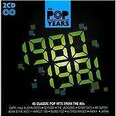2 CD Pop Years (1980-1981) (80s hits/eighties)(Aneka,Kiki Dee,ELO,Bucks Fizz etc