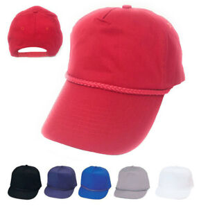 d734ab8e9c5 Details about 1 Dozen Boys Girls Kids Youth Size Cotton 5 Panel Baseball  Hats Caps Wholesale