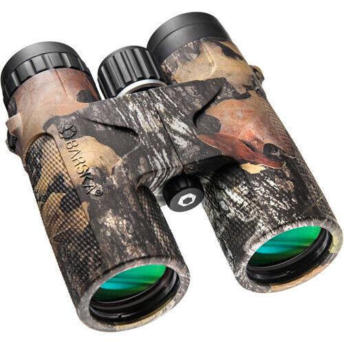 Barska 12x42 negrohawk Binocular resistente al agua con Mossy Oak-Up Camo, AB11848 Break