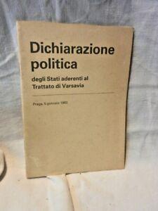 DICHIARAZIONE-POLITICA-Stati-Aderenti-Trattato-Varsavia-Praga-1983-Libro