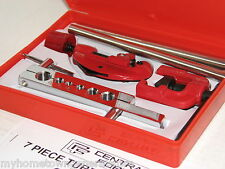 7 Pc Flaring Tools Kit Brake Line Brass Copper Steel Aluminum Tubing Tube Pipe