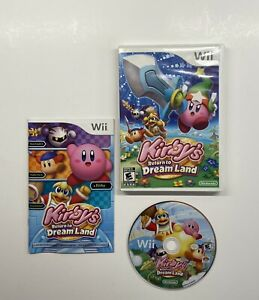 Kirby-039-s-Return-to-Dream-Land-Nintendo-Wii-2011-COMPLETE
