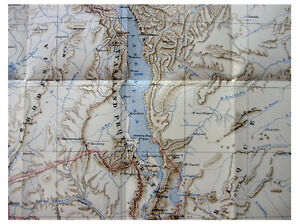 1912-Sharpe-BRITISH-CENTRAL-AFRICA-Pre-Dates-Book-COLOR-MAP-1