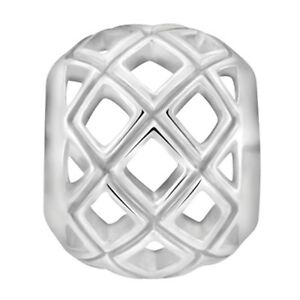 Lovelinks-Bead-Sterling-Silver-Silver-Cut-Out-Spacer-Fashion-Charm-Jewelry-TT542