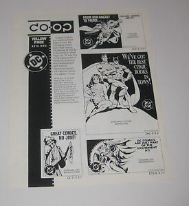 2-PAGE-1994-DC-CO-OP-YELLOE-PAGES-AD-SLICKS-ADVERTISEMENT-SHEET