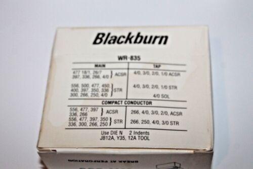 Blackburn WR-835 Wide Range Compression Connector H-Tap Design NEW Lot of 3