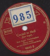 Kurt Engel RIAS BERLIN 1951 am Marimbaphon : Cocktail in Moll