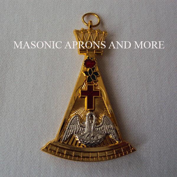 Masonic Regalia-Rose Croix 18th Degree Collar Jewel