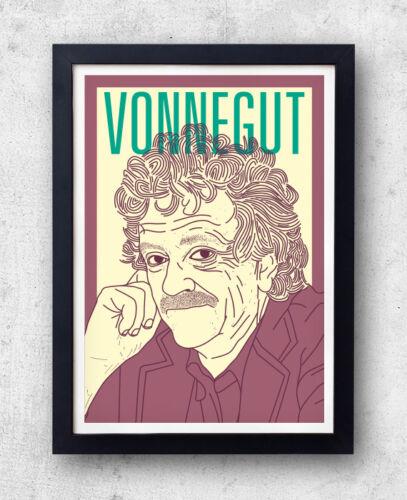 Vonnegut Print cats cradle anti-war Kurt Vonnegut Poster slaughterhouse five
