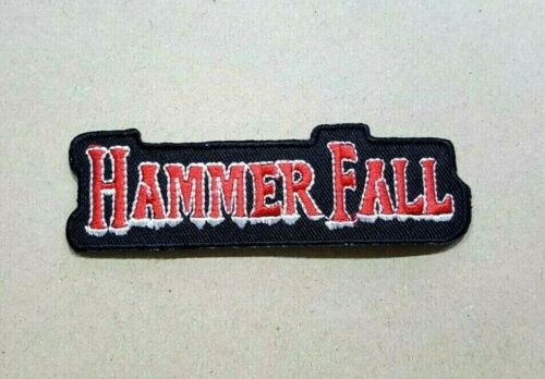ROCK MUSIC HEAVY METAL WOVEN THRASH BADGE pop Embroidered Iron Sew On Patch Logo
