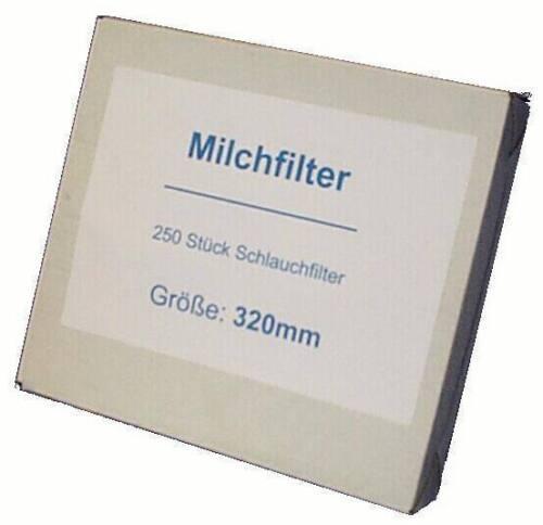 250 x filtro de leche leche mangueras de filtro puntadas longitud 620 MM filtro de leche manguera