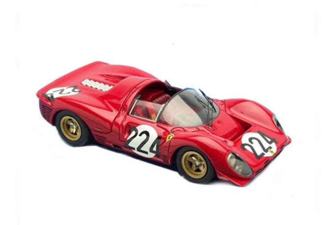 BBR. 1 43. ferrari 330 p4 spyder targa florio 1967.  224 diecast. ref  061b new