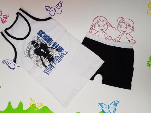 Unterwäsche Garnitur Junge Hemd und Boxershorts 92//98 116//122 128//134 140//146