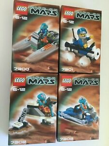 LEGO-Life-On-Mars-Set-Collection-7300-7301-7302-7303-Brand-NEWFree-Postage