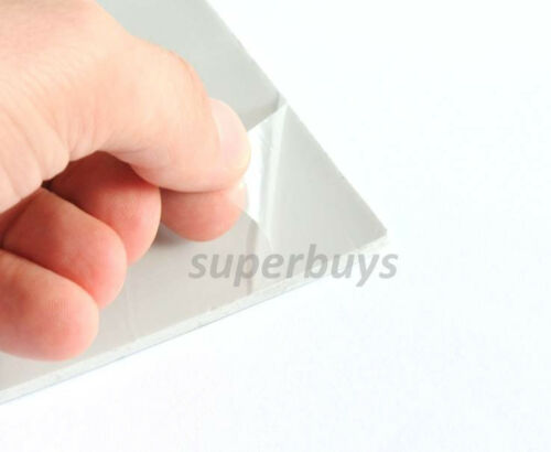 200x 200 x 0.5mm Silicone Thermal Pad Sheet CPU Computer Chip Heat Sink HeatSink