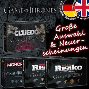 Game-of-Thrones-Spiel-GoT-Brettspiel-Risiko-Monopoly-Cluedo-Deutsch-Englisch-NEU