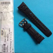Casio Uhrband Ersatzband G-7400, G-7600, GW-002 schwarz  Band Replacement strap
