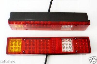 2X Side Marker LED 12V Lights Chassis Bus Trailer Truck for SCANIA DAF MAN