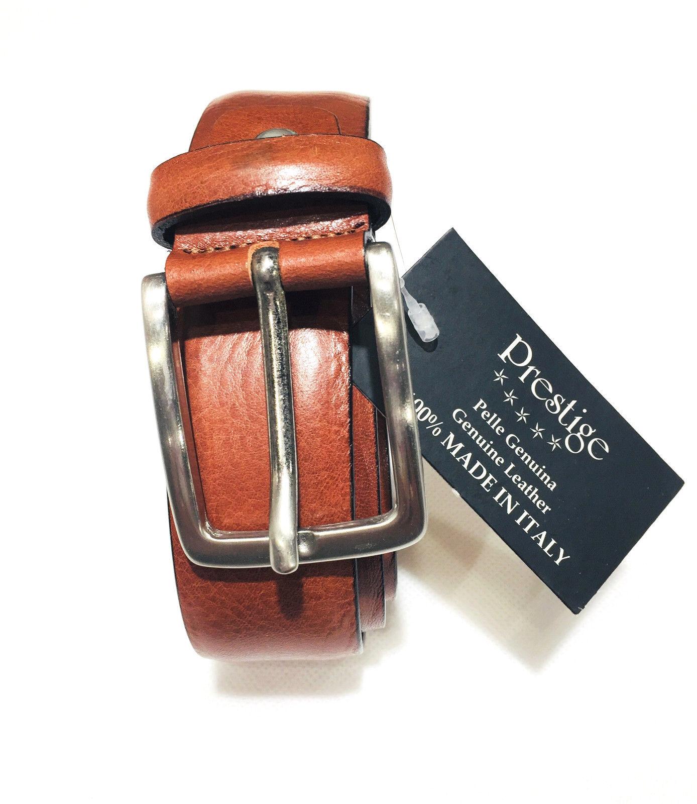 Gürtel Klassisch Gürtel Herren Echtes Leder Made in Italy Verkürzt Eleganter
