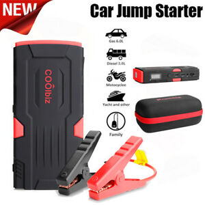 600 Peak Amp Portable Charger Auto Car Battery Booster Jump Starter