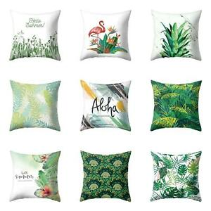 Am-Tropical-Green-Grass-Leaf-Throw-Pillow-Case-Cushion-Cover-Sofa-Home-Decor-Ey